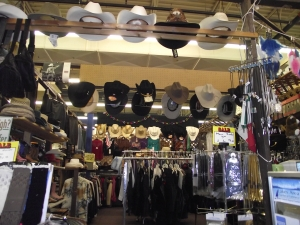 Vintage Clothes Commerce Township MI - Dixieland Flea Market - Garys-Western-Hats
